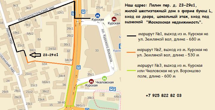 Карта Лялинкр
